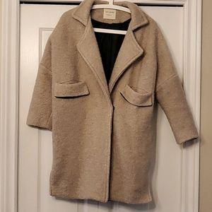Mid-Length Korean Style Coat
